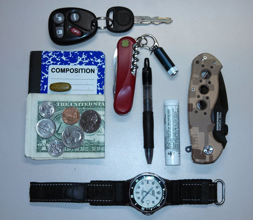 Budget Minded Edc Pocket Dump Preppers Anonymous