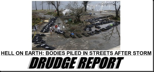 Philippines Typhoon–Hell On Earth-drudge
